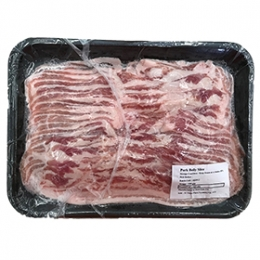 Pork Belly Slices 500g